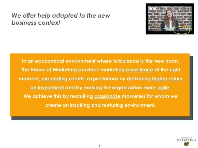 We offer help adapted to the new       business context                 In an economical environment where turbulence is t...