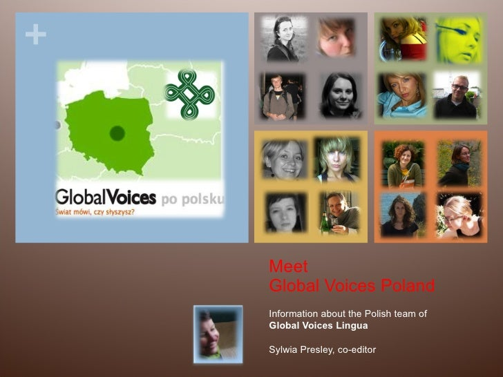 Meet Global Voices Poland Information about the Polish team of Global Voices Lingua Sylwia Presley, co-editor