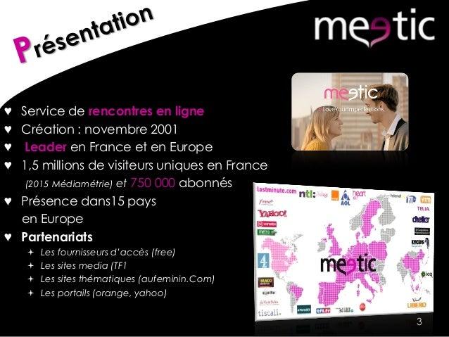 Yahoo rencontres meetic