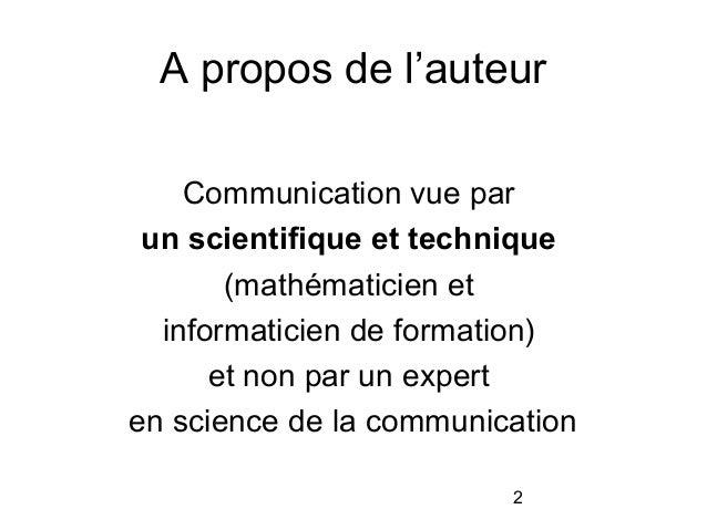 [Meetin] Blog et théorie de la communication Slide 2