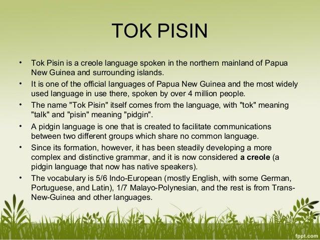 Tok Pisin Story - Onepela Stori long PNG - Pidgin English ...
