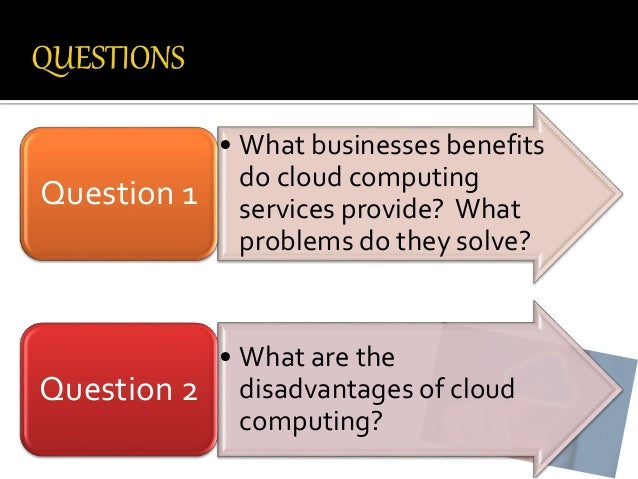 should businesses move to the cloud When it doesn't make sense to go to the cloud however, that sometimes it actually does not make sense to make the move to the cloud sometimes some companies that make heavy use of cloud computing on their daily business are realizing that.