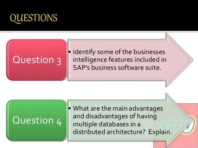explain the role of the database in sap s three tier system What is the meaning of r in r/3 systems r/3 stands for realtime three tier architecture this is the kind of architrecture sap r/3 system has 3) database why.