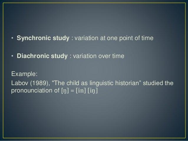 Synchrony and diachrony - Wikipedia