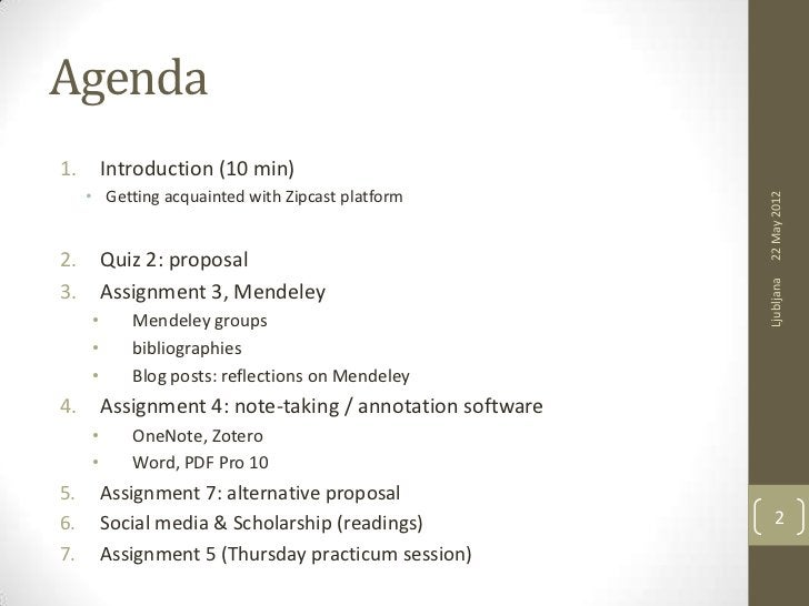 Agenda1.       Introduction (10 min)     • Getting acquainted with Zipcast platform                                       ...