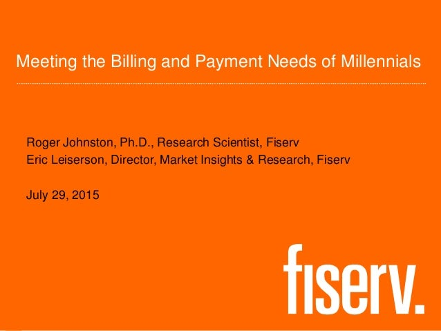 Meeting the Billing and Payment Needs of Millennials