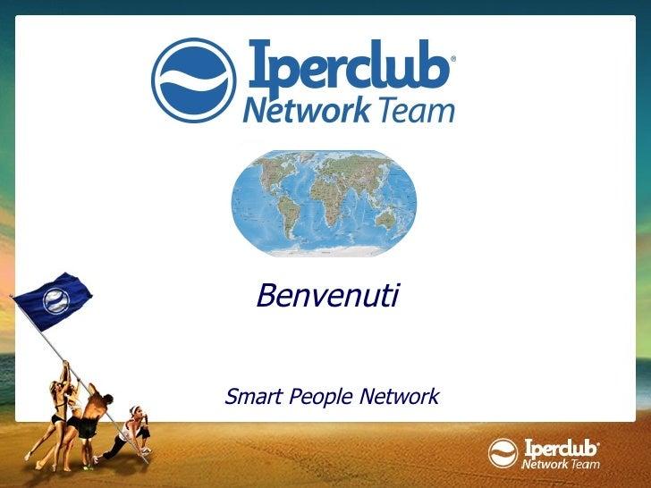 Benvenuti Smart People Network