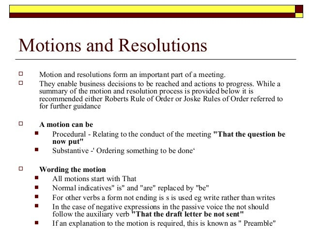 How to Write a Resolution for a Non-Profit or Public Sector Organization