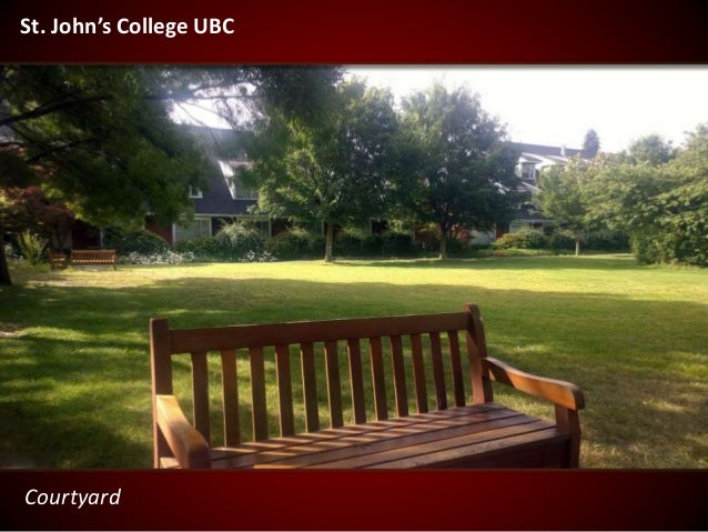 Courtyard St. John's College UBC