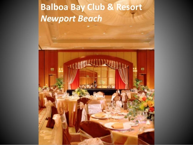 Balboa Bay Club & Resort Newport Beach