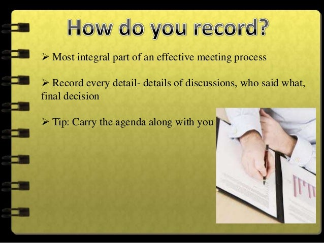 Create an outlineCheck-off attendees as they enter the roomRecord decisions or notes on action items in your outline as...