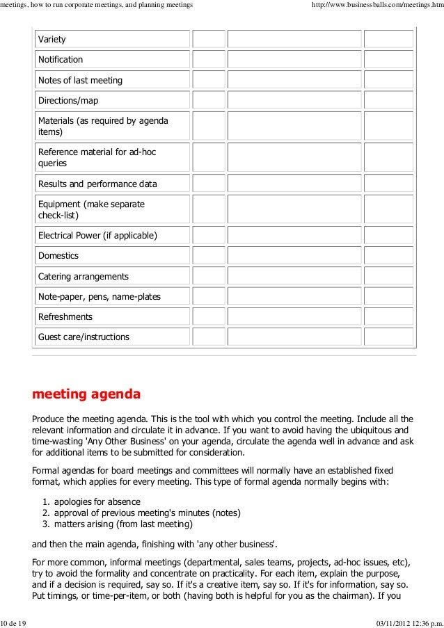 how to become a corporate meeting planner