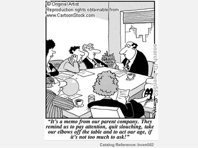 TYPES OF MEETINGS Formality   formalsemi-formal  informal                     Purpose                information-giving   ...