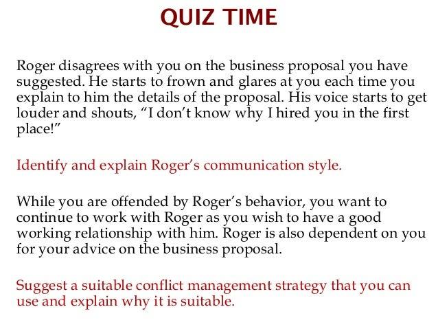 Communication & Meeting Skills