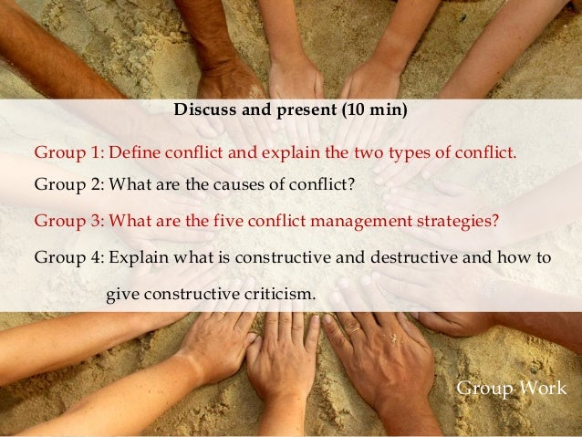 Explain Indirect and Direct Conflict