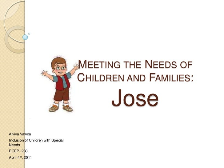 MEETING THE NEEDS OF                                     CHILDREN AND FAMILIES:                                           ...