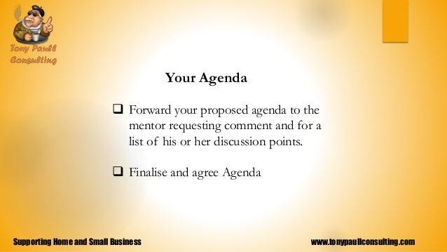 small business meeting agenda
