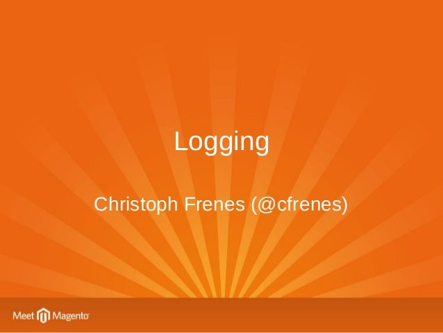 Centralized Logging for Magento