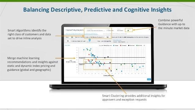 Balancing Descriptive, Predictive and Cognitive Insights