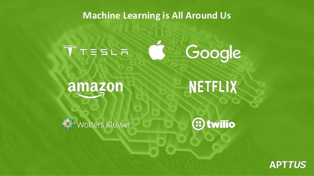 Machine Learning is All Around Us