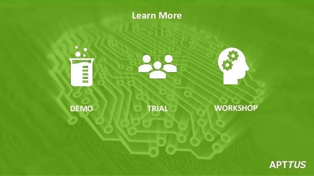 Learn More DEMO TRIAL WORKSHOP