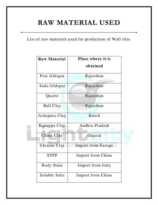 Meet Nayakpura Ceramic Industries Report