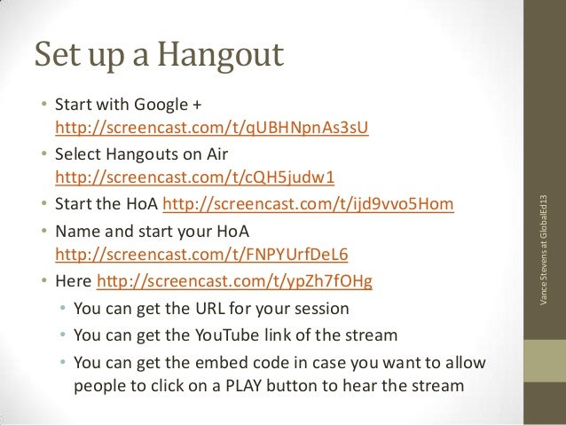 Meet online with unlimited users in Google+ Hangout Slide 2