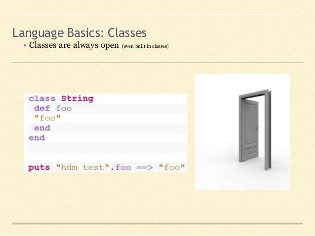 Meet ruby language basics classes 22 ccuart Choice Image