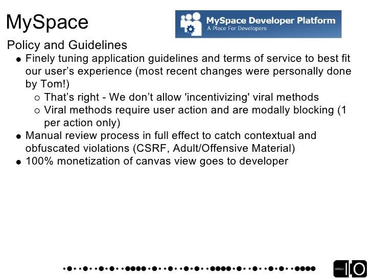 MySpace OpenSocial Extensions - MyOpenSpace   Videos   Photos   Photo Albums   Blog   Comments   Profile   Bulletins   Ind...