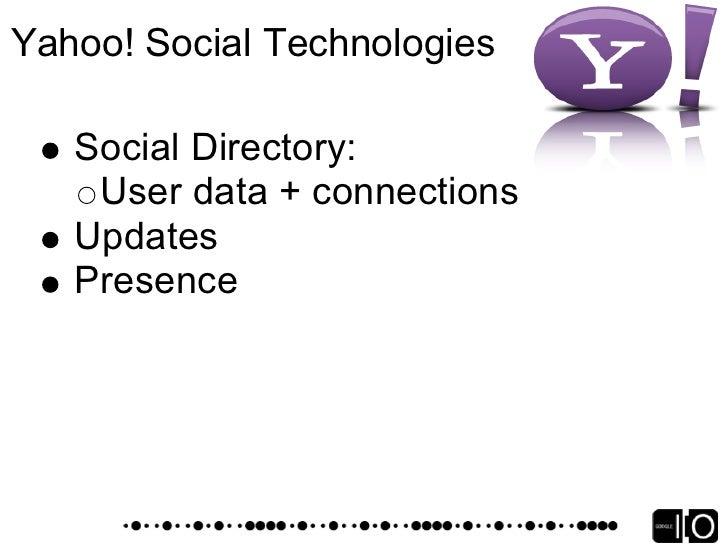 Yahoo! Application platform
