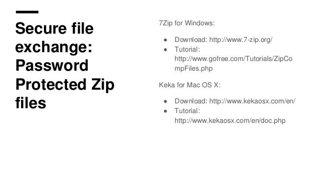 7 Zip Tutorial