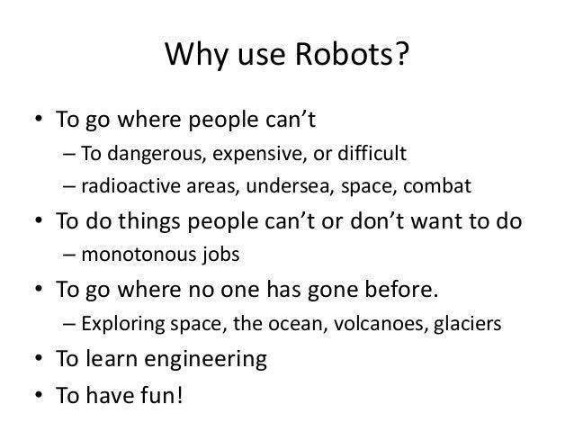 Meet the robots!