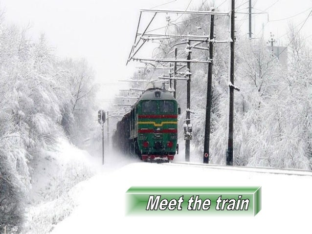 Meet the train~nice!!