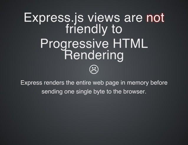 Rediscovering Progressive HTML Rendering with Marko