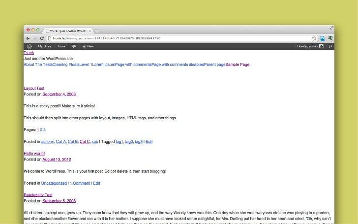 Underscores: A Starter Theme for WordPress