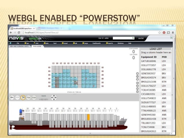 AngularJS and WebGL in the Shipping Industry