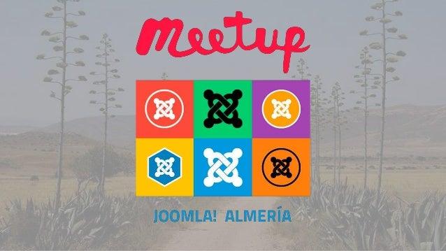 Meetup Joomla | ProfesionalHosting | Antonio Torres