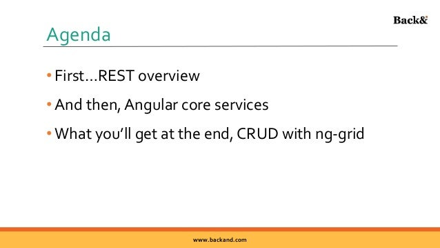 REST Easy with AngularJS - ng-grid CRUD Example