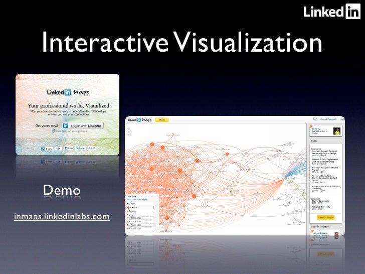 Interactive Visualization      Demoinmaps.linkedinlabs.com