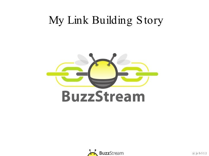 My Link Building Story