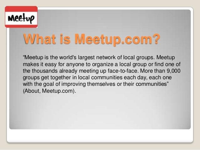 Meet up presentation Slide 2