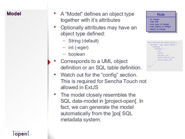 """Model  A """"Model"""" defines an object type together with it's attributes  Optionally attributes may have an object type def..."""