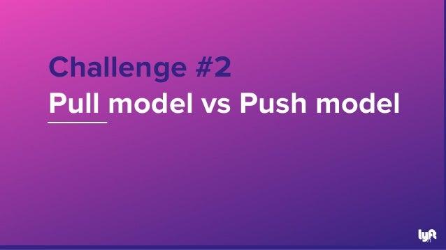 Challenge #2 Pull model vs Push model 71