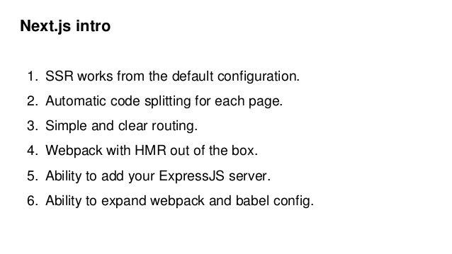 Server side rendering review