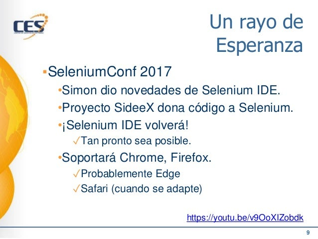 Meetup TestingUy 2018 - Selenium en la actualidad