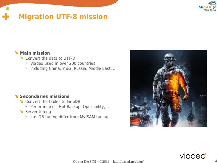 Case Study: MySQL migration from latin1 to UTF-8