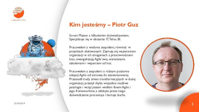 Tech 101: Scrum 25.04.19 Warszawa Slide 3