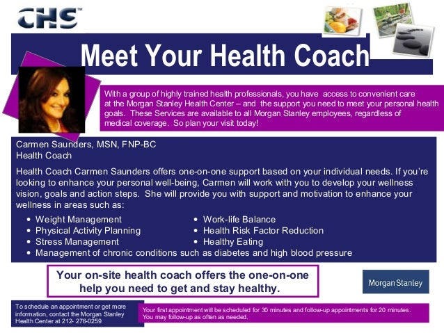 Meet Your Coach: Meet Your Health Coach