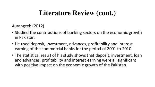 literature review on islamic banking in pakistan Are islamic banks more resilient during financial panics background on islamic banking in pakistan to the literature on performance of islamic.