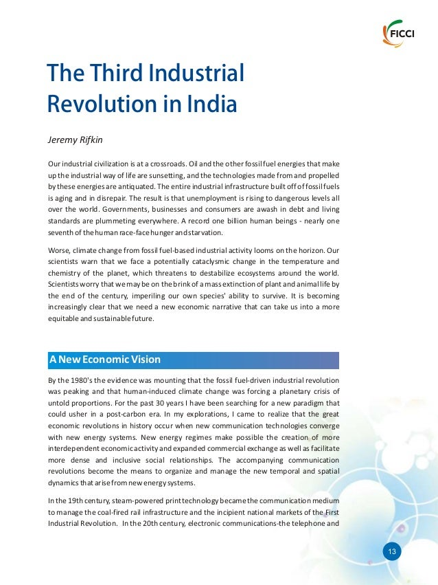 Racism In America Essay   Mega Trends Of The Emerging Third Industrial Revolution  Decisions Essay also Expository Essay Topics About Education Mega Trends Of The Emerging Third Industrial Revolution In India Political Philosophy Essay